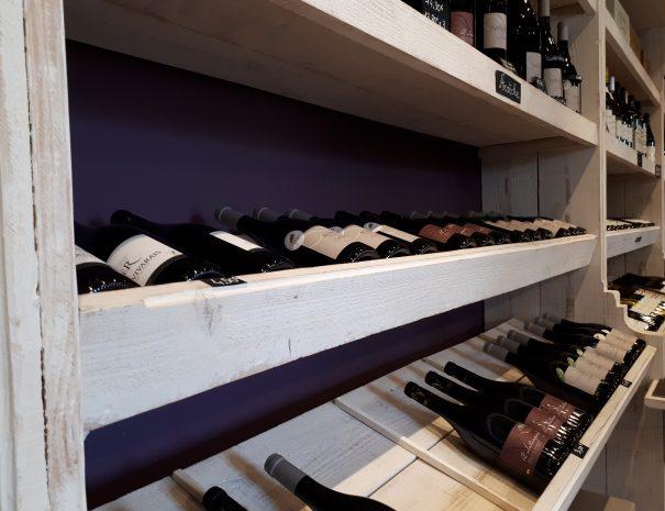 Photo bouteilles de vins